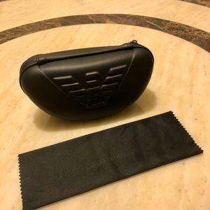 $30 For 2 ♥️ Emporio Armani Sunglasses Case&Cloth